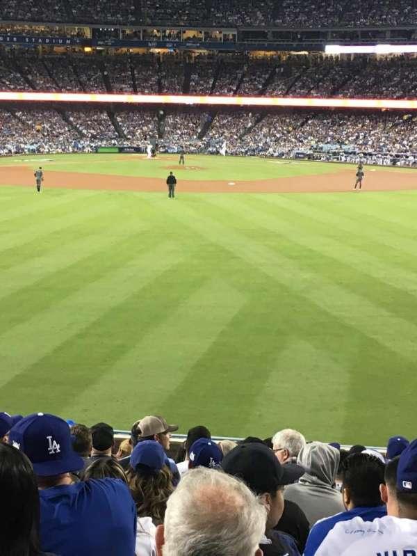 Dodger Stadium, Abschnitt: 314PL, Reihe: N, Platz: 10
