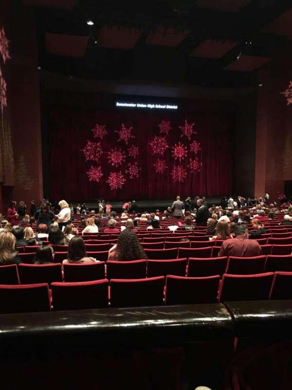 San Diego Civic Theatre, Abschnitt: Dress Circle, Reihe: A, Platz: 29