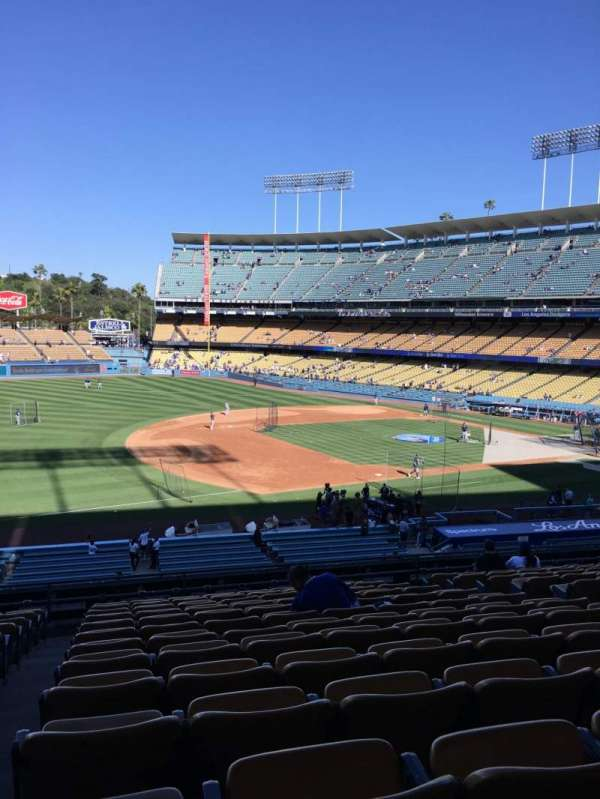 Dodger Stadium, Abschnitt: 143LG, Reihe: N, Platz: 8