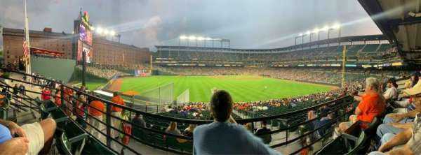 Oriole Park at Camden Yards, Abschnitt: 87, Reihe: 2, Platz: 11
