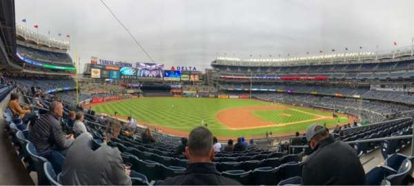 Yankee Stadium, Abschnitt: 227A, Reihe: 10, Platz: 5