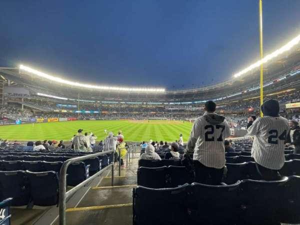 Yankee Stadium, Bereich: 134, Reihe: 15, Platz: 19