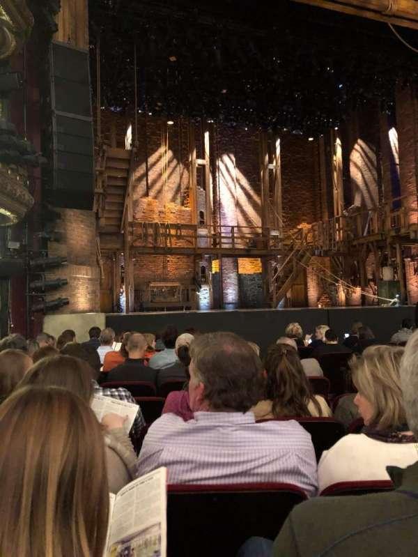 CIBC Theatre, Abschnitt: ORCH-L, Reihe: L, Platz: 15