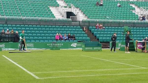 Nottingham Tennis Centre, Abschnitt: West Stand, Reihe: B, Platz: 58
