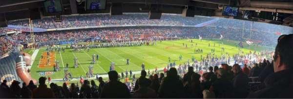 Soldier Field, Abschnitt: 242, Reihe: 12, Platz: 5