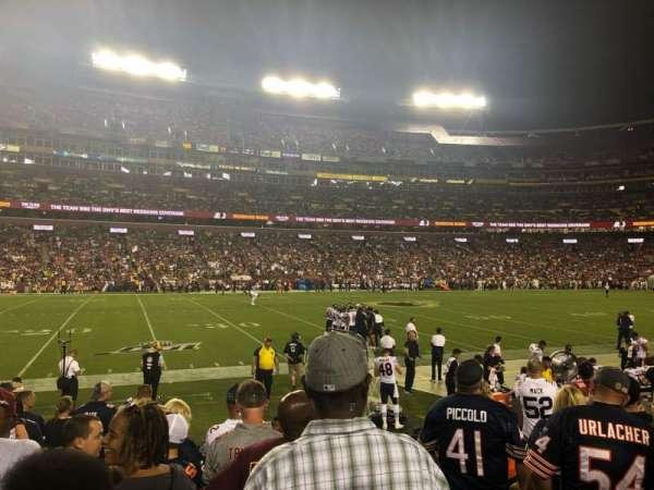 FedEx Field, Abschnitt: 124, Reihe: 6, Platz: 1