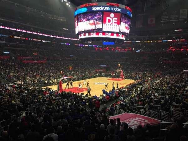 Staples Center, Abschnitt: 205, Reihe: 1, Platz: 5