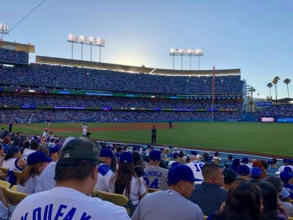 Dodger Stadium, Bereich: 42FD, Reihe: G, Platz: 3