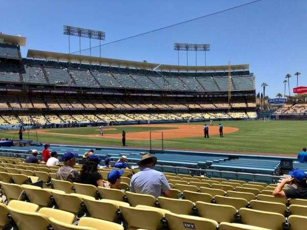 Dodger Stadium, Bereich: 34, Reihe: K, Platz: 8
