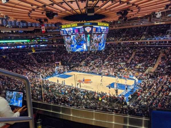 Madison Square Garden, Abschnitt: 214, Reihe: 2, Platz: 1