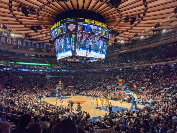 Madison Square Garden, Abschnitt: 110, Reihe: 10, Platz: 8
