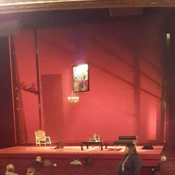 Ethel Barrymore Theatre, Abschnitt: Orch, Reihe: P, Platz: 2