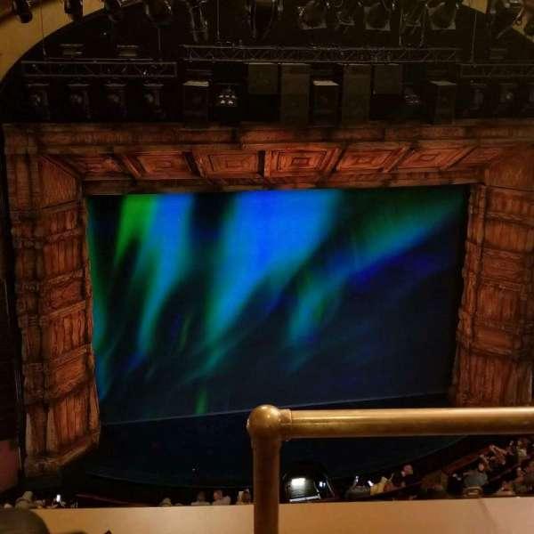 St. James Theatre, Abschnitt: Balcony, Reihe: B, Platz: 1