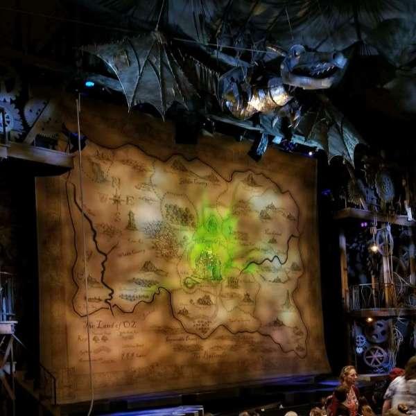 Gershwin Theatre, Abschnitt: Orch, Reihe: K, Platz: 21