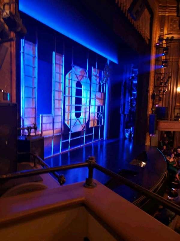 Nederlander Theatre, Abschnitt: Left Box, Reihe: E, Platz: 2