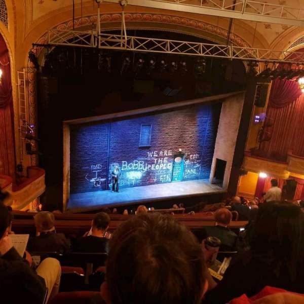Bernard B. Jacobs Theatre, Abschnitt: Mezz, Reihe: J, Platz: 17