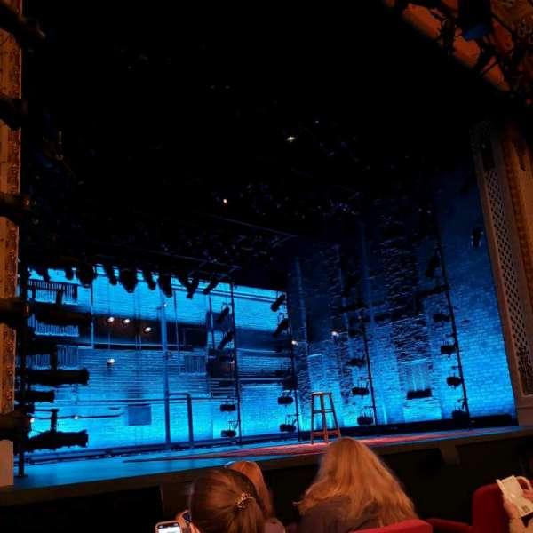 Cort Theatre, Abschnitt: Orch, Reihe: C, Platz: 9