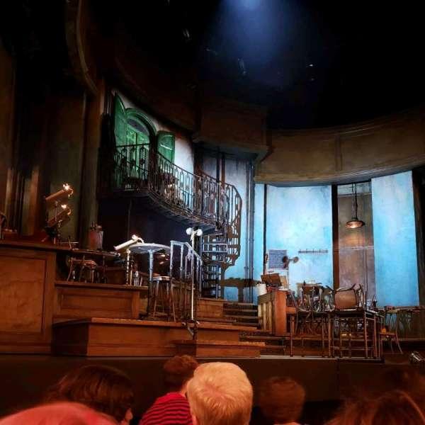 Walter Kerr Theatre, Abschnitt: Orch, Reihe: E, Platz: 7