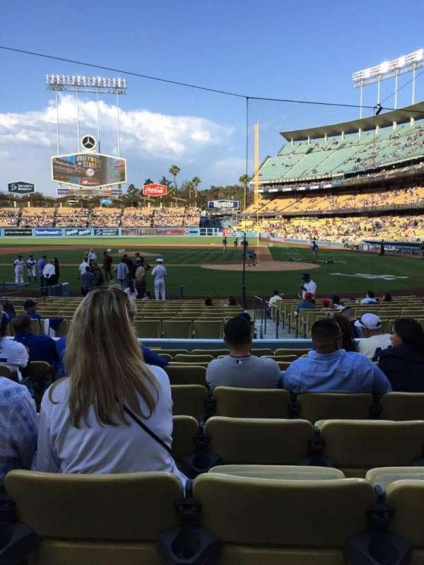 Dodger Stadium, Abschnitt: 9FD, Reihe: J, Platz: 5