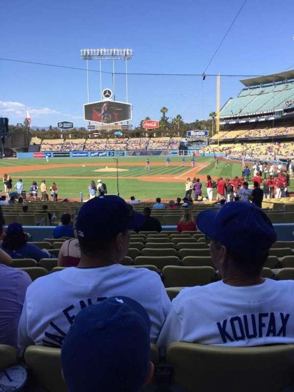 Dodger Stadium, Abschnitt: 7FD, Reihe: L, Platz: 6
