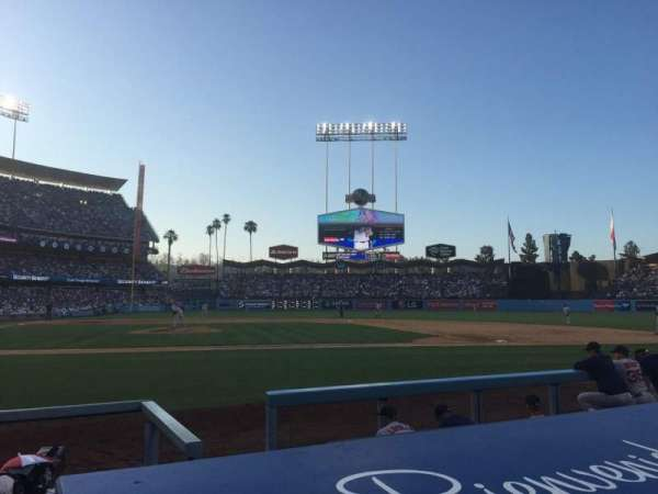 Dodger Stadium, Abschnitt: 6DG, Reihe: BB, Platz: 3