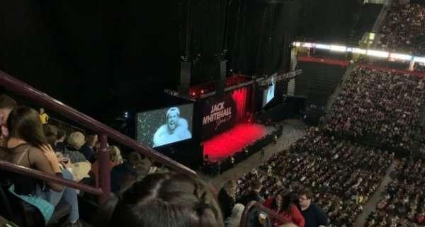 Manchester Arena, Abschnitt: 203, Reihe: P, Platz: 2