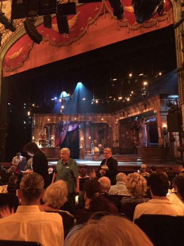 Bernard B. Jacobs Theatre, Abschnitt: Orch, Reihe: L, Platz: 10