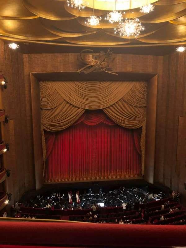 Metropolitan Opera House - Lincoln Center, Abschnitt: Balcony, Reihe: A, Platz: 115