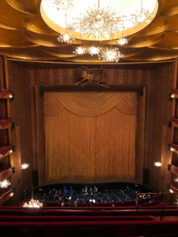 Metropolitan Opera House - Lincoln Center, Abschnitt: Balcony, Reihe: D, Platz: 103