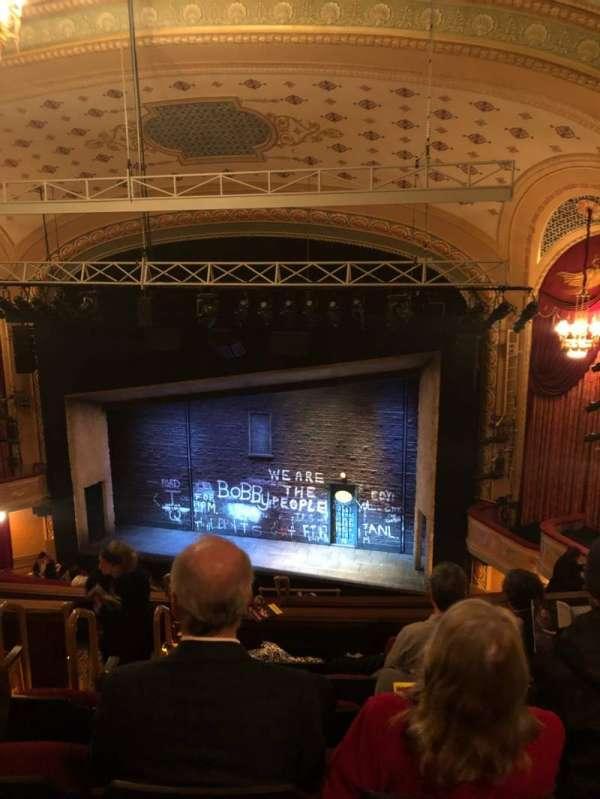 Bernard B. Jacobs Theatre, Abschnitt: Rear Mezz, Reihe: K, Platz: 8