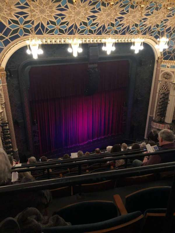 New York City Center, Abschnitt: Balcony, Reihe: G, Platz: 111