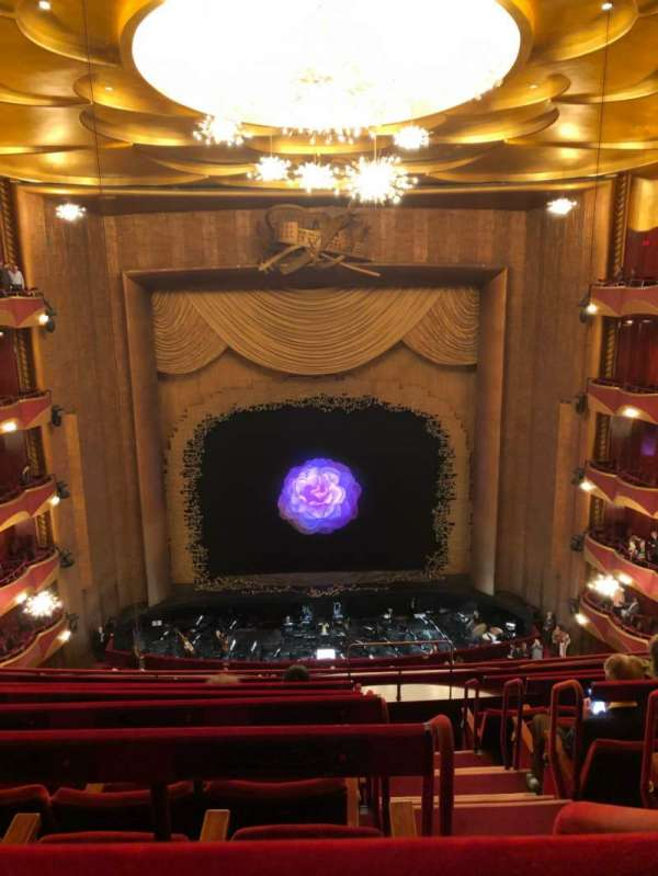 Metropolitan Opera House - Lincoln Center, Abschnitt: Bakcony, Reihe: G, Platz: 103