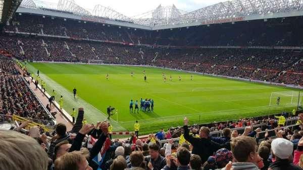 Old Trafford, Abschnitt: E232, Reihe: 13, Platz: 21
