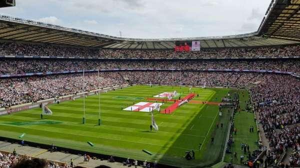 Twickenham Stadium, Abschnitt: M17, Reihe: 68, Platz: 38