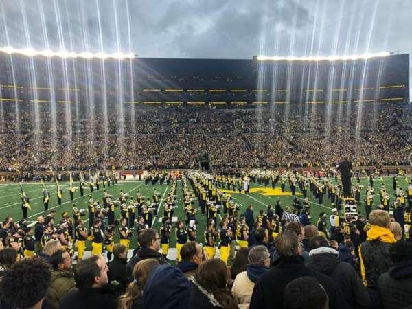 Michigan Stadium, Abschnitt: 24, Reihe: 6, Platz: 23