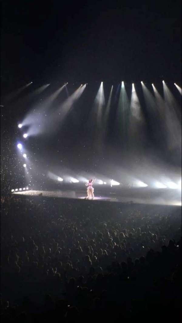 Oracle Arena, Abschnitt: 105, Reihe: 20