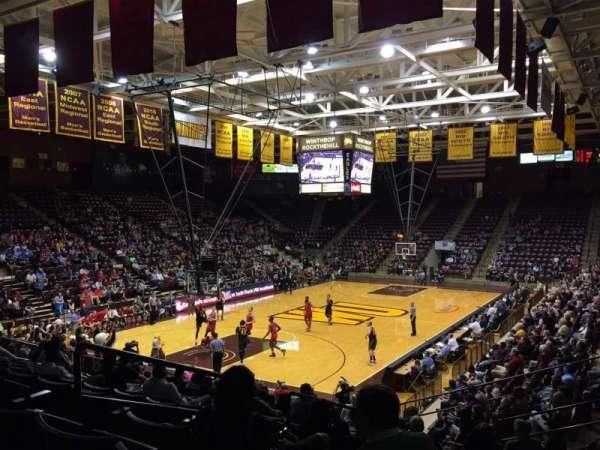 Winthrop Coliseum, Abschnitt: 118, Reihe: P, Platz: 9