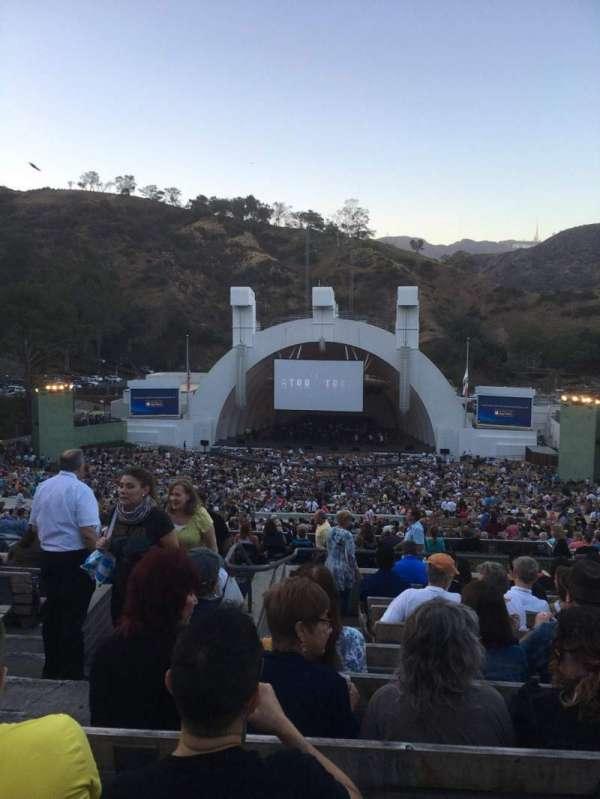 Hollywood Bowl, Abschnitt: M2, Reihe: 11, Platz: 119