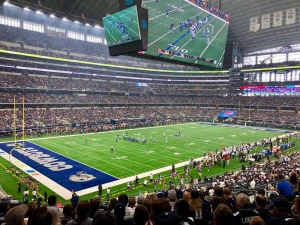 AT&T Stadium, Abschnitt: 217, Reihe: 9, Platz: 10