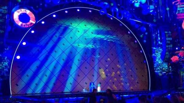 Palace Theatre (Broadway), Abschnitt: Orchestra, Reihe: L, Platz: 13