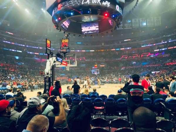 Staples Center, Abschnitt: 106, Reihe: G, Platz: 5