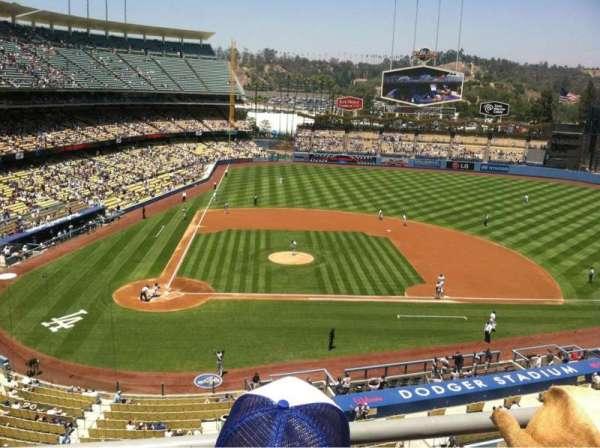 Dodger Stadium, Abschnitt: 10RS, Reihe: B, Platz: 4