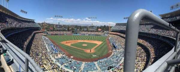 Dodger Stadium, Abschnitt: 5RS, Reihe: A, Platz: 1