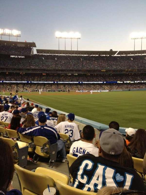 Dodger Stadium, Abschnitt: 48FD, Reihe: E, Platz: 3
