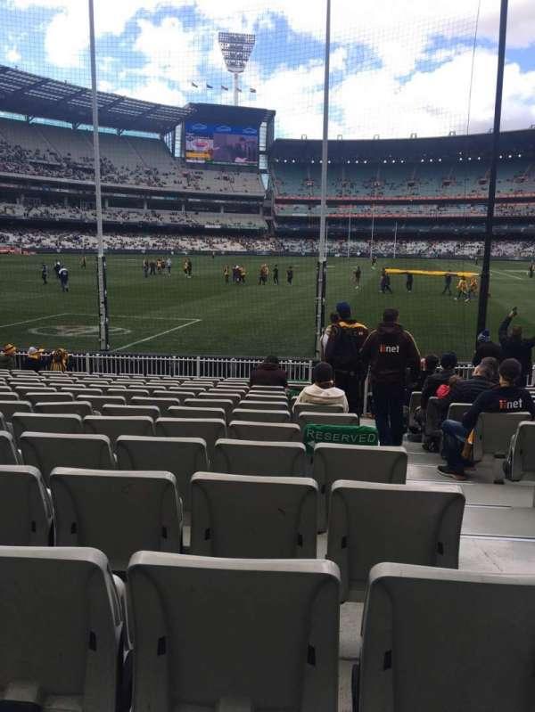 Melbourne Cricket Ground, Abschnitt: M32, Reihe: O, Platz: 2