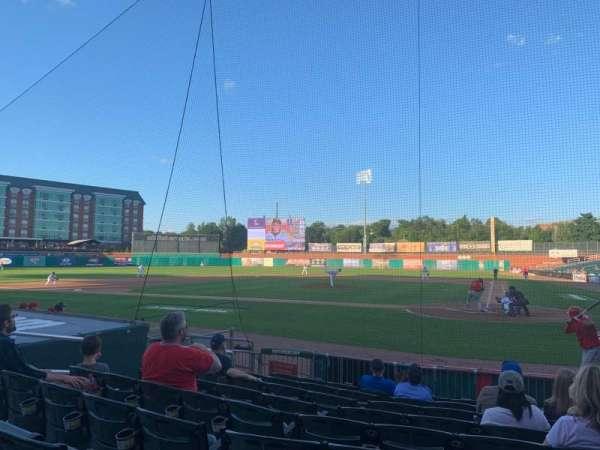 Northeast Delta Dental Stadium, Abschnitt: 107, Reihe: J, Platz: 12
