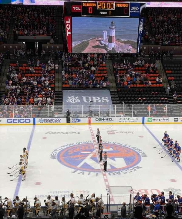 Nassau Veterans Memorial Coliseum, Bereich: 224, Reihe: 6, Platz: 16