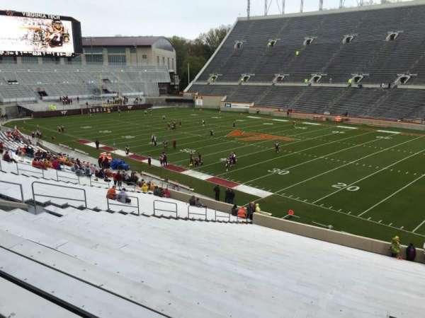 Lane Stadium, Abschnitt: 18, Reihe: RR, Platz: 7
