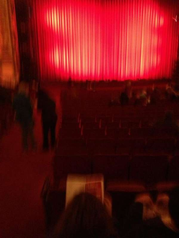 Cadillac Palace Theater, Bereich: orchestra l, Reihe: V, Platz: 1