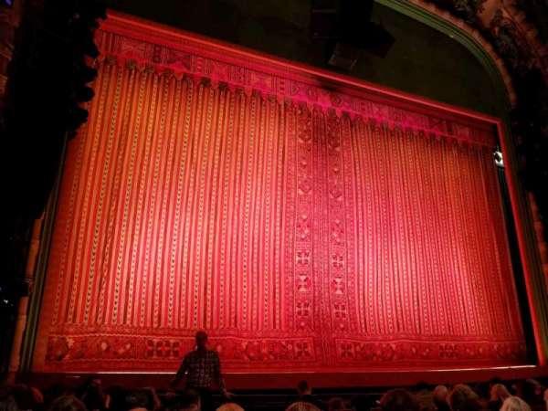 New Amsterdam Theatre, Abschnitt: Orchestra L, Reihe: H, Platz: 3